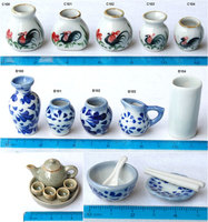 Miniature Dollhouse Ceramics
