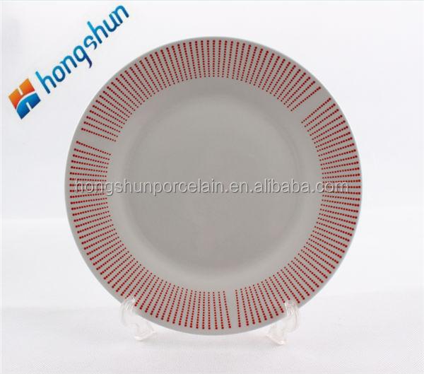 Piatti in ceramica bianchi economici all 39 ingrosso acquista online i migliori lotti di piatti in - Ingrosso bevande piano tavola ...