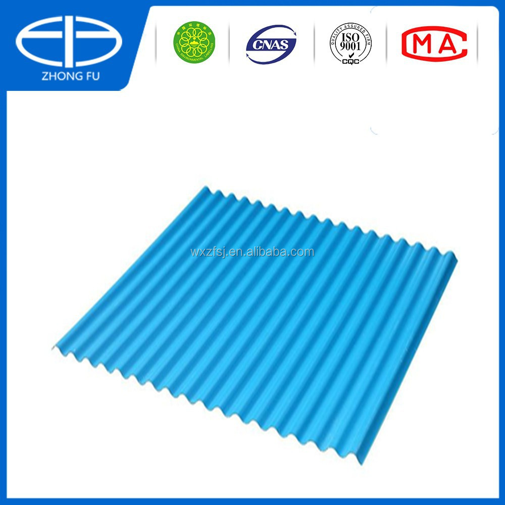 Plastic roofing tile terracotta building material pvc for Flexible roofing material