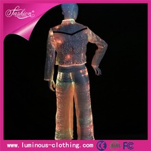 light up fiber optic clothing latest fancy wedding pant suits for women