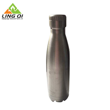 New Pattern Insulated cola style shaped whistle bubble soap water bottle