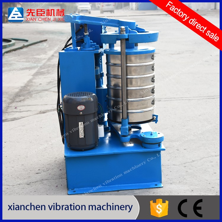 Standard Lab Machine Electric round Vibration Screen Slapping Test Sieve Shaker