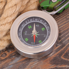 High accuracy magnetic compass for outdoor camping and hiking