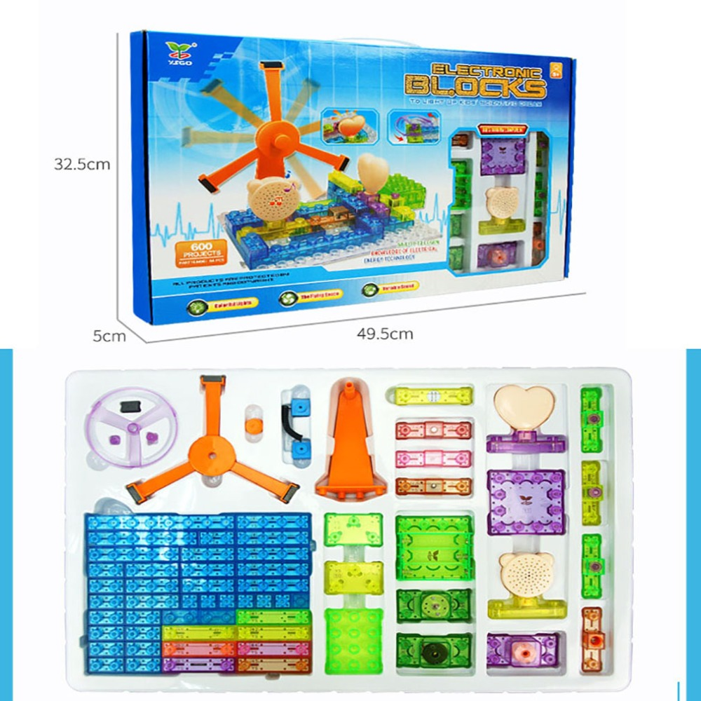 electronic building blocks cool kid toys educational