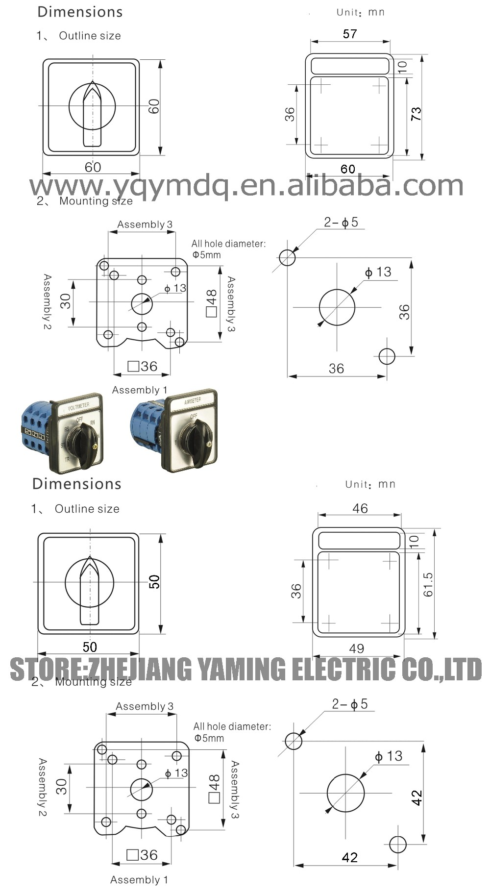Voltmeter Selector Switch Wiring Diagram Library For Volt Meter Pinout Diagrams Rotary Trusted Battery