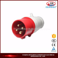 good insulation ablity 16A IP44 generator plug adapters