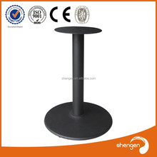 Hot sale stone pedestal lucite drum ss table base