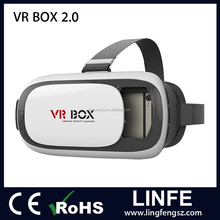 2016 Wholesale Vr Box 2.0 Version 2 Vr Virtual Reality Glasses,Vr Glass + Remote Control