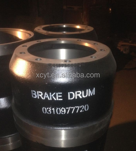 ISO9001 Certification and Brake Drums Type international trucks brake parts
