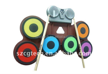 Drum/drum set/rolling drum set/kids drum kits/Drum sets,roll up drum kit