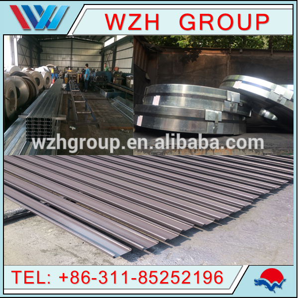Q235 beams steel / C and H steel Purlins and beams