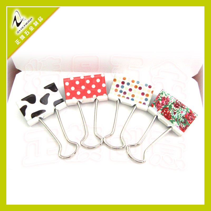 Clips and fastener for folders Office appliance China binder clip factory and supplier