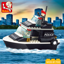 wholesale education DIY toys kids building blocks police toy set with 98 PCS