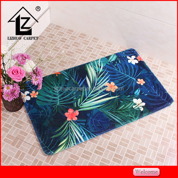 New arrival 3D Photo Picture Custom Printed Door Mat