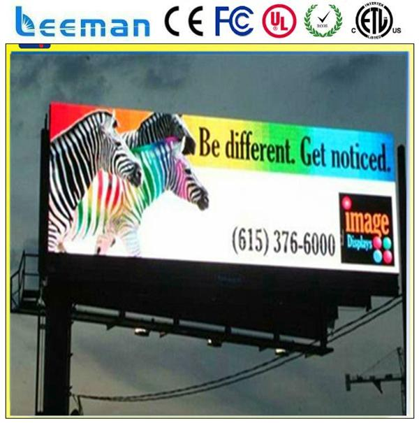 outdoor full color p10 led display screen for fair or show led street light module replacement led lcd tv screens