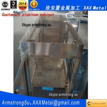XAX885Alu OEM ODM customized multimedia integrated system aluminum panel cabinet