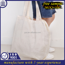Free sample Low MOQ beach gift canvas shopping bag