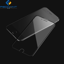 2018 Factory price 3D Curved edge Anti blue light tempered glass film for iphone 8