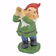 Made In China The Dwarf Resin Golf Statue