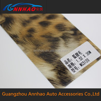 New Arrival!!! PVC Material Fox Wool Car Wrap vinyl with Air Free 1.52*30m Size