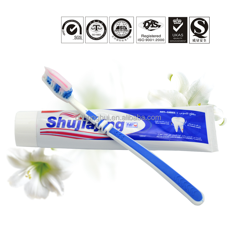 Guangzhou Mix Color Toothpaste Quality Dental Paste Brands Name of Tooth Paste for Arabic Market