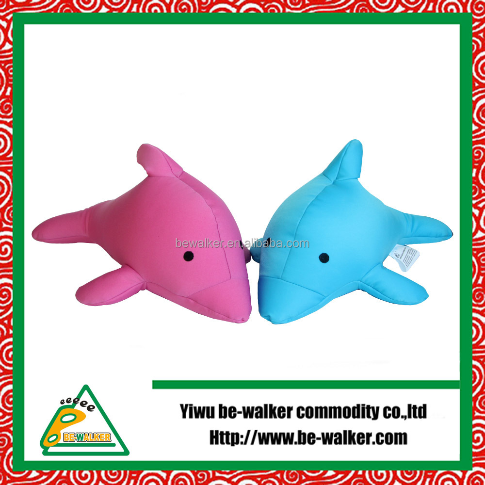 Dolphin Shape Cute Toy Pillow,Vibrating Gift Pillow
