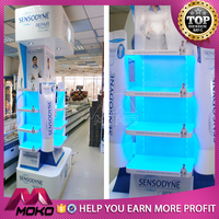 MOKO Special modelling beauty acrylic makeup showcase cosmetics shop furniture design