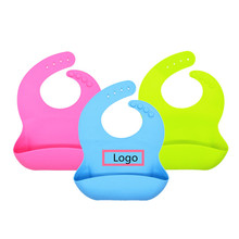 Waterproof Easily Wipes Clean and Comfortable Soft Kids Silicone Baby Bibs Keep Stains Off