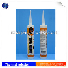 Thermal RTV silicone adhesive glue