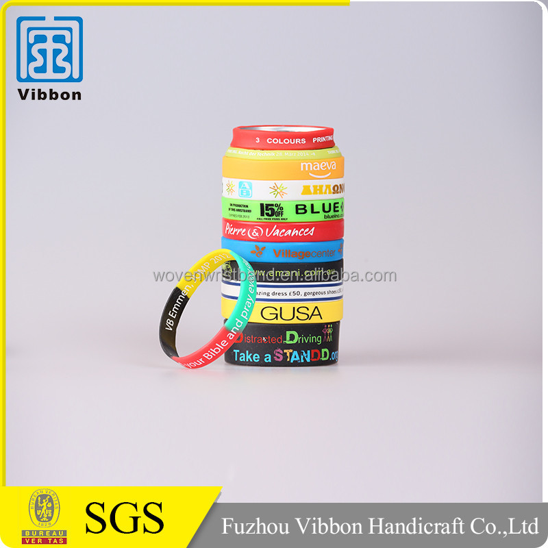 promotion gift silicon wristband custom