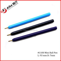 Mini Plastic Ball point pen for promotion/give-away/gift