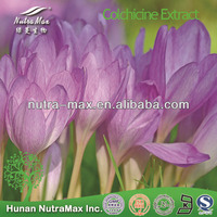 100% Natural Colchicine Extract Powder Colchicine 98% 99%