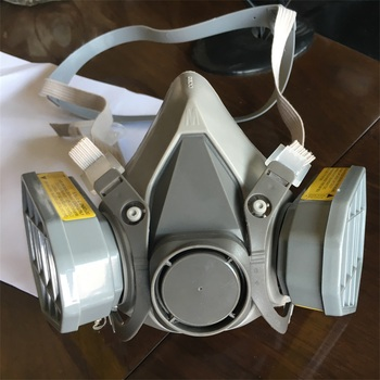 Reusable Half Face 3M alike High Quality Low Price Gas Mask with activated carbon