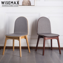 Danish design replica furniture Jesper solid wood Dining Chair with upholstery seat