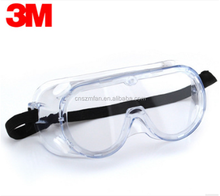 3M 1621 ANSI Z87.1 Chemical Proof Eye Protection Transparent Safety Glasses Goggles