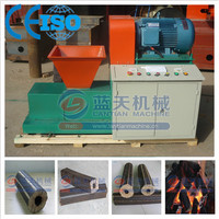 Saving labor and cost peanut shell briquette charcoal machine