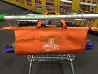 Spacious Reusable Eco easy bag for supermarket trolley
