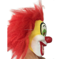 Halloween Horror Colorful clown Full Mask for Costume Party Dress Carnival