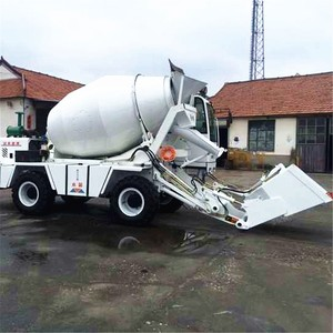 1.0 m^3 Mini Self Loading Concrete Mixer Truck price