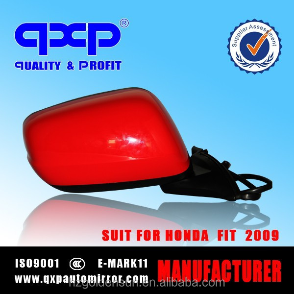 auto side mirror for honda fit/jazz 2009