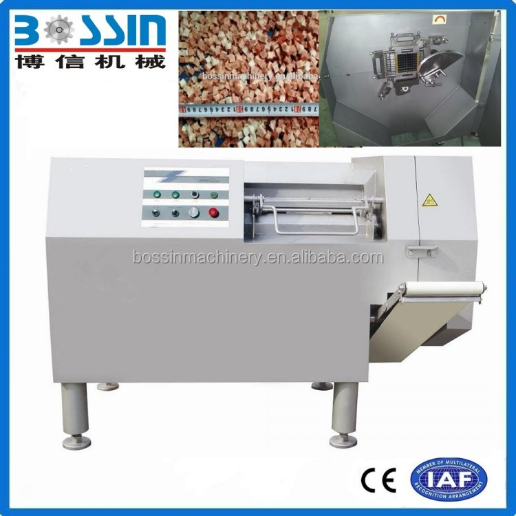2016 Automatic pork meat dicer processing machine widely used