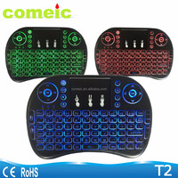 mini wireless touch keyboard backlit i8 air mouse