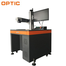Fiber mopa color laser marking engraving machine plastic bumper mark machine 20w 30w
