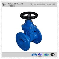 cast iron pn10 water modulating control valve