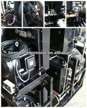 emergency tire sealer& inflator Hengda compressor 140CFM 580PSI 60HP 2014 CHINAPLAS