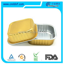 disposable food packaging aluminum foil container/tray/box Customised food Aluminum Foil Container supplier