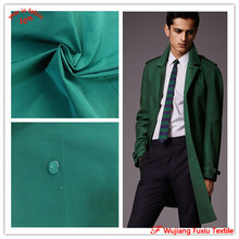 plain twill poly/cotton blend fabric for casual jacket