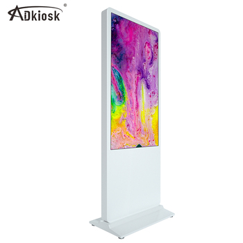 43 inch indoor floor standing interactive kiosk lcd touch screen kiosk