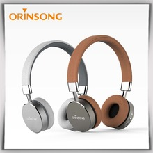 Factory Unique Design super Bass wireless bluetooth headphone with fm radio and built-in mp3 player function