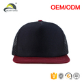 kids plain blank polyester foam trucker cap mesh back hat